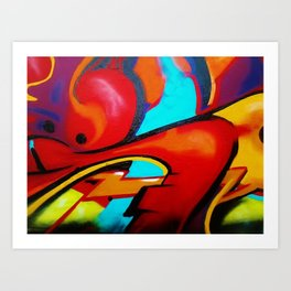 Prime Graffiti Art Print