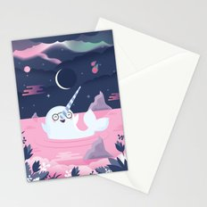Norman the Near-Sighted Narwhal Stationery Cards