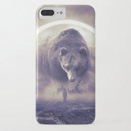 aegis II   bear iPhone Case
