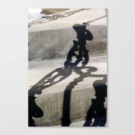 Shadow in Hackney4 Canvas Print