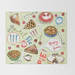 sweet pie Throw Blanket