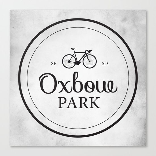 Oxbow Park Canvas Print