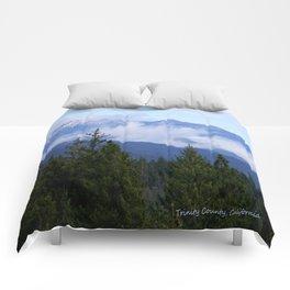 Trinity Alps in Trinity County, California Comforters