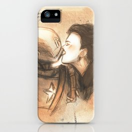 Carter and Rogers iPhone Case