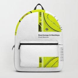 Post Malon e - Beerbongs & Bentleys - Album Art Hip Hop Backpack