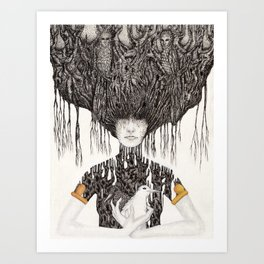 Devotion Art Print
