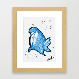 BubbleFish Framed Art Print