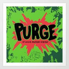 purge Art Print