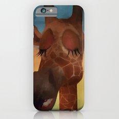 Sleeping Giraffe  iPhone 6 Slim Case