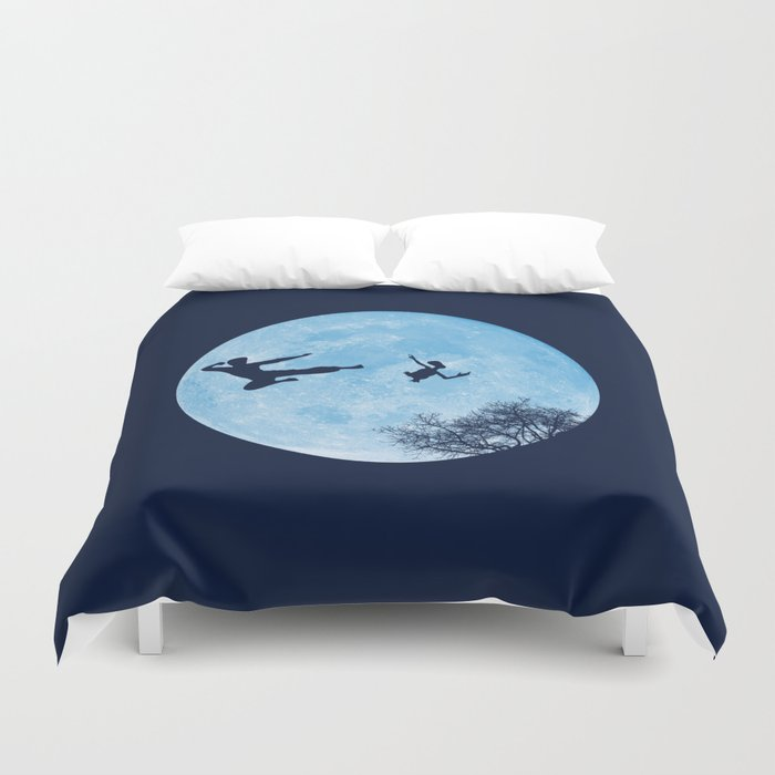 Go Big or Phone Home Duvet Cover