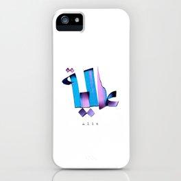 Alia iPhone Case