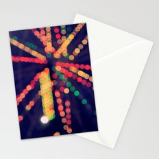 At the Show Bokeh Stationery Cards
