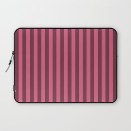 Blush Pink Stripes Pattern Laptop Sleeve