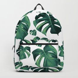 Tropical Monstera Pattern #3 #tropical #decor #art #society6 Backpack
