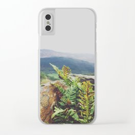 Snowdonia View Clear iPhone Case
