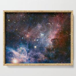 Carina Nebula Star Photography Serving Tray