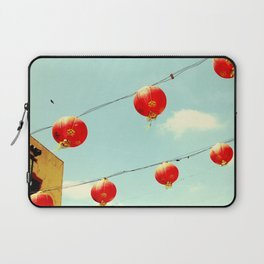 Lanterns III, Chinatown Laptop Sleeve