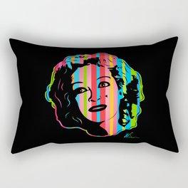Baby Jane   Dark   Pop Art by William Cuccio Rectangular Pillow