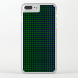 Armstrong Tartan Clear iPhone Case