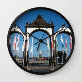 Ponta Delgada Wall Clock