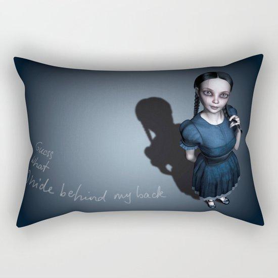 Miss Innocent Rectangular Pillow