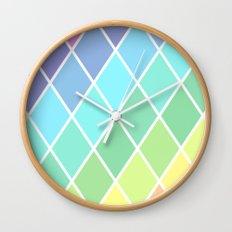 Tetrahedral Rainbow Wall Clock