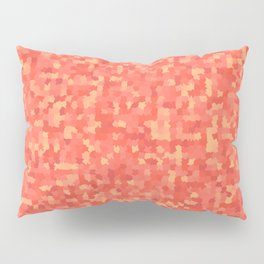 Geometric pattern with colorful triangles and squares Pillow Sham