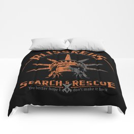 Snake Plissken's Search & Rescue Pty. Ltd. Comforters