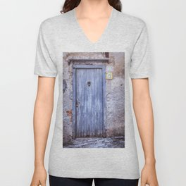 Old Blue Door Unisex V-Neck