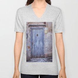 Old Blue Door Unisex V-Neck