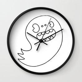 Ghost Boy Wall Clock
