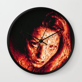 Bad Dreams Wall Clock