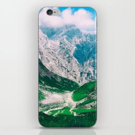 View of the majestic Madeira mountains iPhone Skin