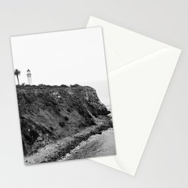 Point Vicente Lighthouse, Rancho Palos Verdes, California Stationery Cards