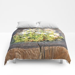 Friday Flowers Comforters
