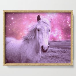 Pink Horse Celestial Dreams Serving Tray