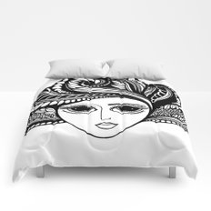 Tendrils #6 Comforters