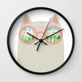 va-CAT-ion Wall Clock
