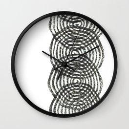 Circular Column Wall Clock
