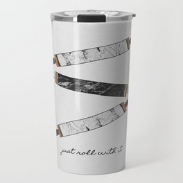 Just Roll With It, Kitchen Prints Travel Mug