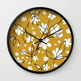 Flowers from Lola Wall Clock