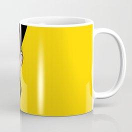 Retro looking angry woman. Pop Art. Coffee Mug