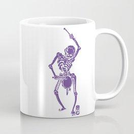 Purple Faust Skeleton II Coffee Mug