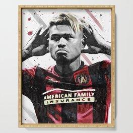 Josef Martinez Football Print Football Wall Art Football Poster Football Wall Decor Poster Serving Tray