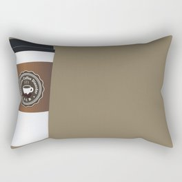 Obsessive Coffee Disorder Rectangular Pillow