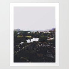 An Irish View Art Print