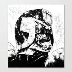 Dredd - Clean Canvas Print