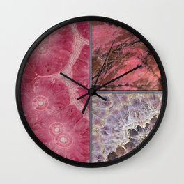 Gem Stone Decor Wall Clock