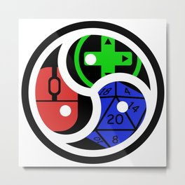 KG Discord Group Emblem Metal Print