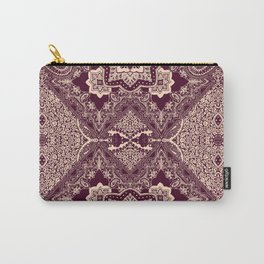 ornamental paisley with diamond Carry-All Pouch